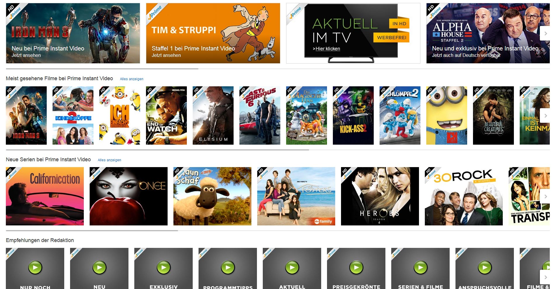 Unblock Amazon Prime Instant Video